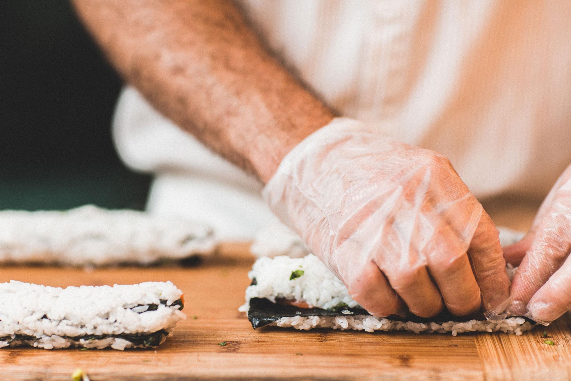 sushi poznań